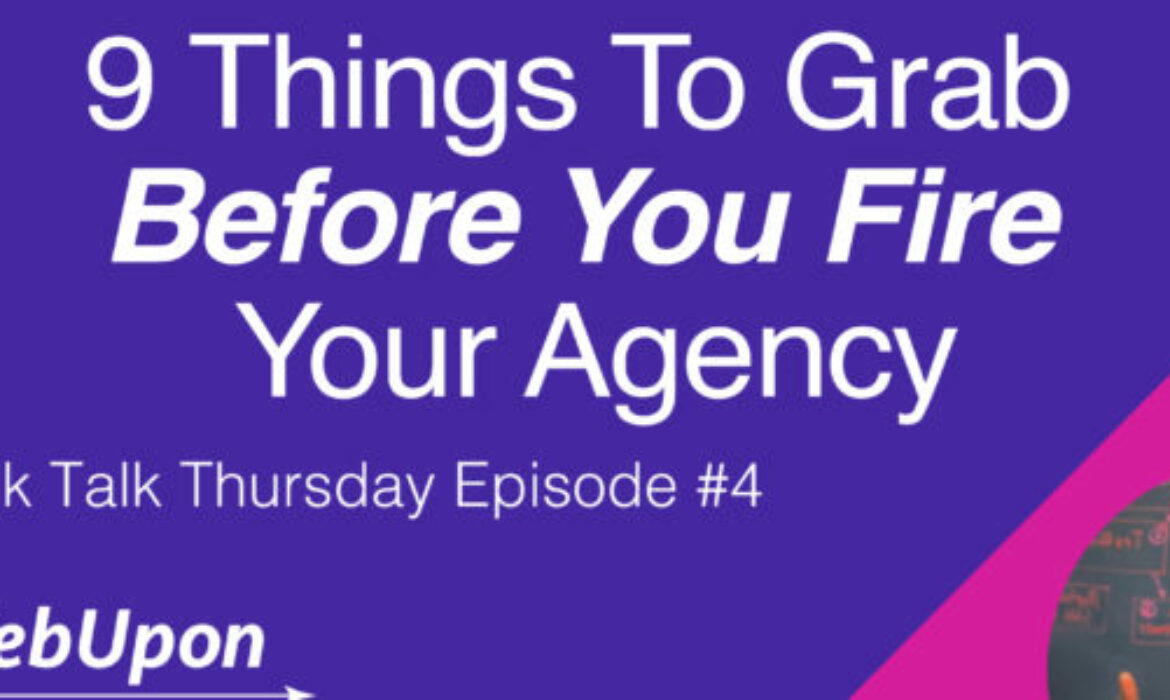 How To Leave Your Marketing Agency